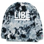 <img class='new_mark_img1' src='https://img.shop-pro.jp/img/new/icons15.gif' style='border:none;display:inline;margin:0px;padding:0px;width:auto;' />LIBE x DYE  / TIE DYE BIG LONG SLEEVE   [ライブ] タイダイ染 ロングスリーブ