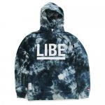 <img class='new_mark_img1' src='https://img.shop-pro.jp/img/new/icons15.gif' style='border:none;display:inline;margin:0px;padding:0px;width:auto;' />LIBE x DYE / TIE DYE BIG LONG PARKER [ライブ] タイダイ染 パーカー