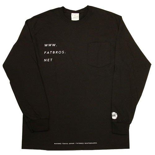 FATBROS / WWW POCKET LONG SLEEVE TEE  [ファットブロス] ロングスリーブTシャツ