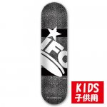 <img class='new_mark_img1' src='//img.shop-pro.jp/img/new/icons15.gif' style='border:none;display:inline;margin:0px;padding:0px;width:auto;' />IFO SKATEBOARD / CEMENT -black- 7.375[アイエフオー] キッズ スケートボード デッキ