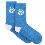 <img class='new_mark_img1' src='//img.shop-pro.jp/img/new/icons15.gif' style='border:none;display:inline;margin:0px;padding:0px;width:auto;' />MAGENTA / PLANT SOCKS - BLUE [マジェンタ] 靴下