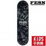 <img class='new_mark_img1' src='https://img.shop-pro.jp/img/new/icons15.gif' style='border:none;display:inline;margin:0px;padding:0px;width:auto;' />FESN / 43-26 KIDS DECK [エフ イー エス エヌ] ロゴデッキ キッズデッキ 7.0インチ