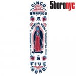 <img class='new_mark_img1' src='https://img.shop-pro.jp/img/new/icons15.gif' style='border:none;display:inline;margin:0px;padding:0px;width:auto;' />5BORO NYC /CINCO BARRIOS WHITE SKATEBOARD DECK[ファイブ ボロー] スケートボードデッキ 8インチ