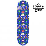 <img class='new_mark_img1' src='https://img.shop-pro.jp/img/new/icons15.gif' style='border:none;display:inline;margin:0px;padding:0px;width:auto;' />THANK YOU SKATEBOARDS  / TOREY PUDWILL HEALTH NUT DECK BLUE  [サンキュー] スケートボードデッキ 7.5インチ