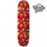 <img class='new_mark_img1' src='https://img.shop-pro.jp/img/new/icons15.gif' style='border:none;display:inline;margin:0px;padding:0px;width:auto;' />THANK YOU SKATEBOARDS  / THANK YOU DAEWON SONG JUNK FOOD DECK RED  [サンキュー] スケートボードデッキ 7.875インチ