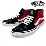 <img class='new_mark_img1' src='https://img.shop-pro.jp/img/new/icons15.gif' style='border:none;display:inline;margin:0px;padding:0px;width:auto;' />VANS / SK8 MID (JEFF GROSSO ) SHOES [バンズ] スケートボード シューズ  Red - Black