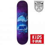 <img class='new_mark_img1' src='https://img.shop-pro.jp/img/new/icons15.gif' style='border:none;display:inline;margin:0px;padding:0px;width:auto;' />SHUT / SHARK MINI DECK ASSORTED STAINS SKATEBOARD KIDS DECK [シャット] スケートボード 子供用 デッキ 7.375インチ