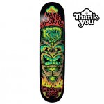 <img class='new_mark_img1' src='https://img.shop-pro.jp/img/new/icons15.gif' style='border:none;display:inline;margin:0px;padding:0px;width:auto;' />THANK YOU SKATEBOARDS  / DAEWON SONG TIKI  DECK WHITE  [サンキュー] スケートボードデッキ 7.75インチ