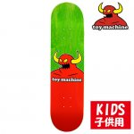 <img class='new_mark_img1' src='https://img.shop-pro.jp/img/new/icons15.gif' style='border:none;display:inline;margin:0px;padding:0px;width:auto;' />TOYMACHINE / MOSTER SKATEBOARD KIDS DECK [トイマシーン] 子供用サイズ スケートボードデッキ 7.375インチ