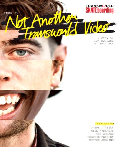 Transworld Skateboarding /NOT ANOTHER(DVD)