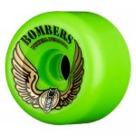 <img class='new_mark_img1' src='//img.shop-pro.jp/img/new/icons15.gif' style='border:none;display:inline;margin:0px;padding:0px;width:auto;' />POWELL PERALTA / BOMR GREEN 60mm 85a  (クルーザー・ソフト ウィール)