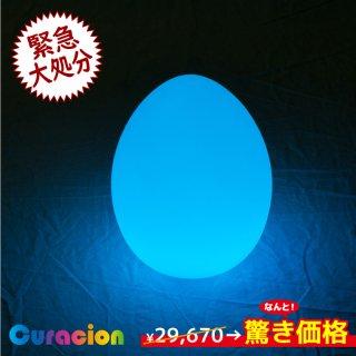 【新型】(選べるリモコン別売り)光るLEDファニチャー(家具)光るエッグランプ Φ26×32cm RGB WiFi RFリモコン対応 充電式 【80110】