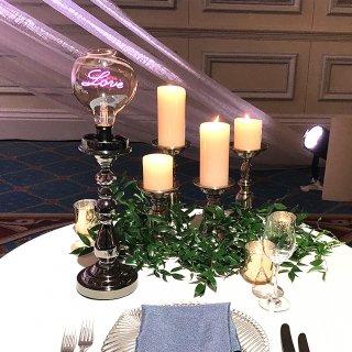 【受注生産】LEDブライダルランプ  ブリエクール スタンドタイプ 結婚式場・イベント・店舗装飾照明