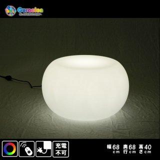 【掲載禁止】光るLEDファニチャー(家具)「クラシオン」テーブル ライトニングテーブル 68cm×41cm RGB 充電式 リモコン付属(自由に組合せ対象)【HG-BAT003】