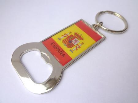 スペイン国旗♪栓抜きキーホルダー☆