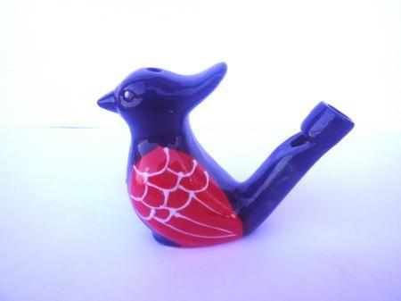 幸せを運ぶ♪とってもかわいい陶器の鳥笛♪☆Azul☆