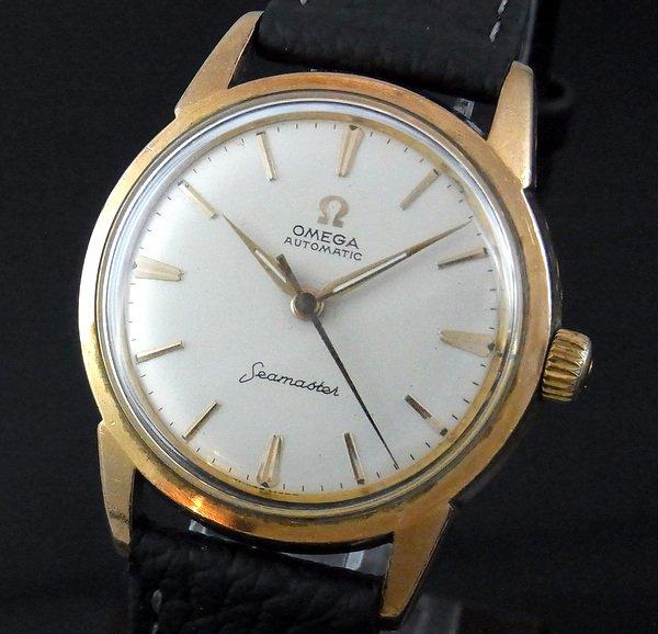過去の名品達  売切れ 1960年 オメガ シーマスター Cal.591 希少 自動巻 【特価】