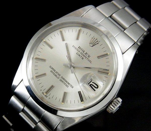 過去の名品達  売切れ 1967年 ロレックス SS オイスターパーペチュアルデイト ref1500 【OH済】