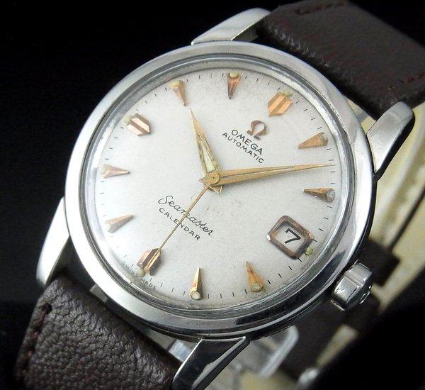 過去の名品達  売り切れ 1960年 オメガ シーマスター カレンダー CAL503 日付【特価】