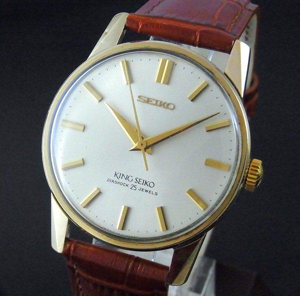 過去の名品達  売切れ 1964年 44KS キングセイコー 初期型 セカンドモデル 手巻き AGF【特価】