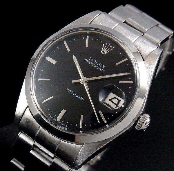 過去の名品達  売切れ 1970年 ロレックス アンティーク ref6694 オイスターデイト 【OH済】