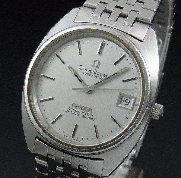 売切れ1973年製 オメガ アンティーク コンステ cal1011 Cライン 【特価】