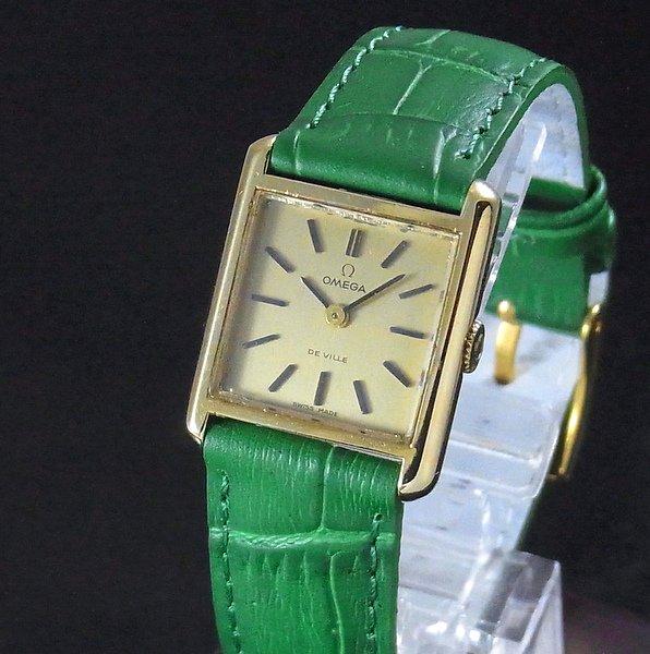 過去の名品達  売り切れ 1973年 アンティーク オメガ デビル cal485 レディース 手巻【OH済】