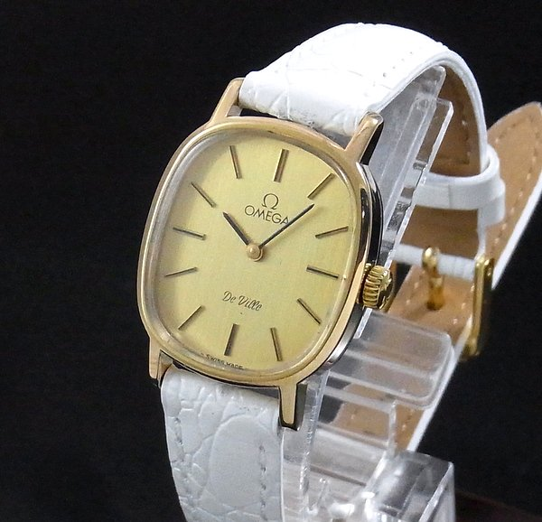 過去の名品達  完売 1980年 オメガ アンティーク cal625 デビル 手巻き レディース【OH済】