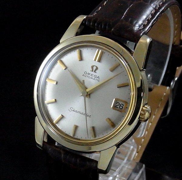 過去の名品達  売切れ 1963年 オメガ シーマスター [日付] CAL562 ゴールドキャップ【特価】
