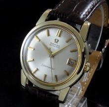 売切れ 1963年 オメガ シーマスター [日付] CAL562 ゴールドキャップ【特価】の商品画像