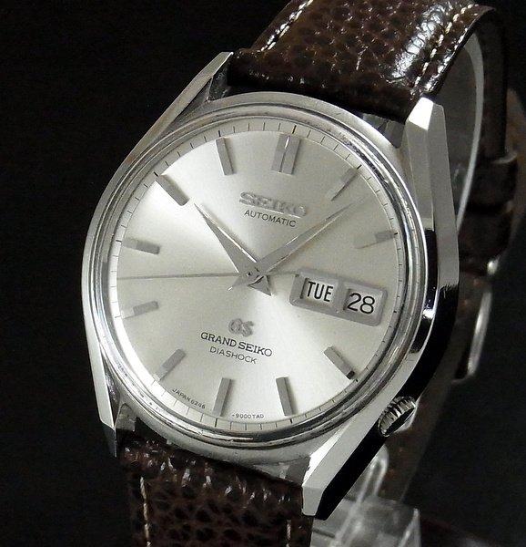 過去の名品達  売り切れ 1967年製 希少 グランドセイコー 6246-9001 アンティーク GS62【OH済】