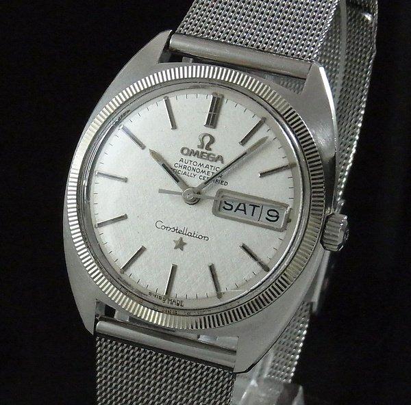1970年 〜 1979年   1970年 オメガ アンティーク コンステ デイデイト cal751 WGコイン【OH済】
