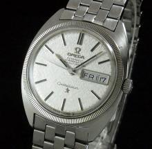 1970年オメガ アンティーク コンステ デイデイト cal751 WGコイン ブレス【OH済】