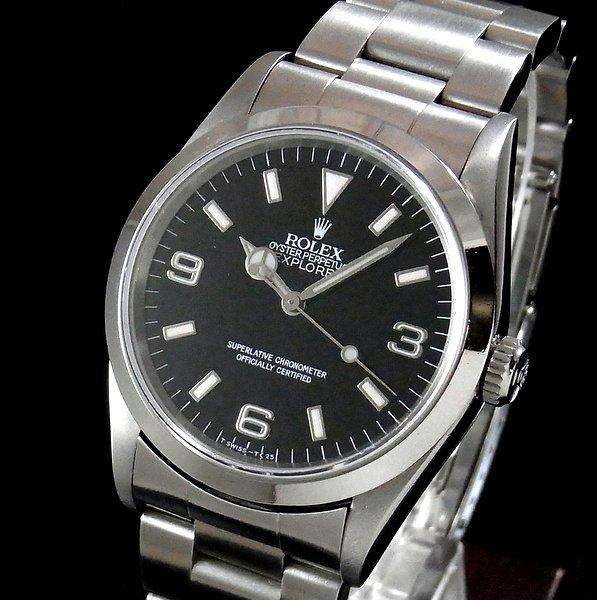 ロレックス - Antique Rolex -   売切れ1994年〜95年 ROLEX ロレックス エクスプローラー� 14270 W番 中古・美品【OH済】