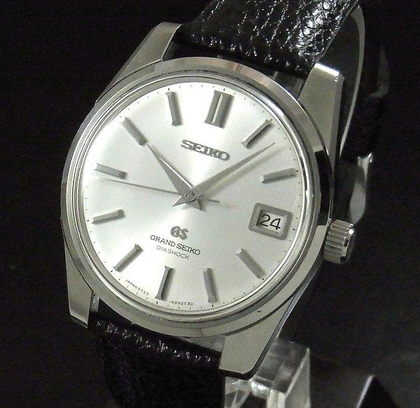 過去の名品達  売切れ 1968年製 アンティーク グランドセイコー 5722-9991 セカンド後期型 手巻【OH済】