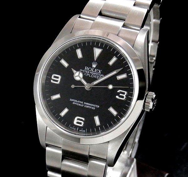 ロレックス - Antique Rolex -   売切れ 2004年 ROLEX ロレックス エクスプローラー� 114270 F番 中古・美品【OH済】