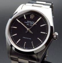1996年 ロレックス エアキング オートマ 14000 ブラック T番【OH済】【美品中古】