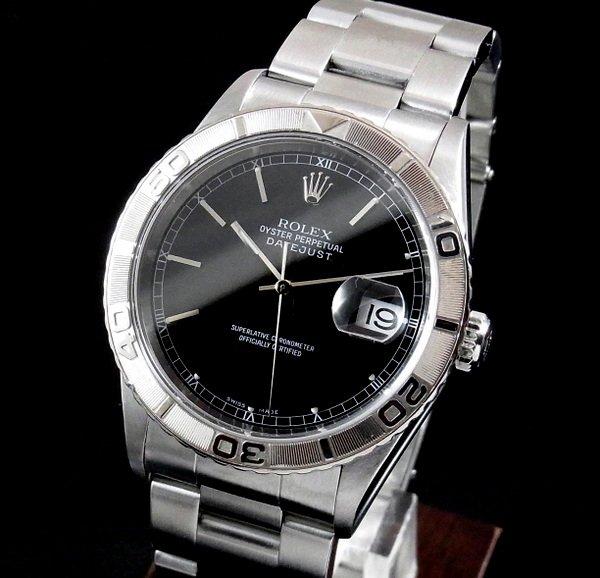 ロレックス -Antique Rolex-   売り切れ【OH済】2002年〜03年製造 ロレックス ref16264 サンダーバード WGベゼル{美品・中古}