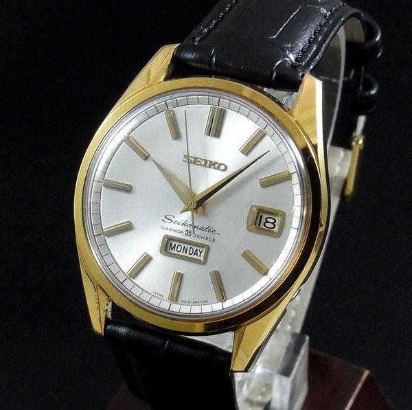 セイコー -Antique seiko -   売り切れ 【OH済】1965年 アンティーク セイコーマチック ウィークデーター SGP 6218-8971