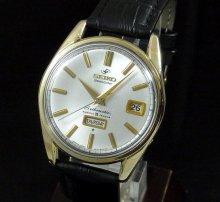 【OH済】1964年 アンティーク セイコーマチック ウィークデーター 6218-8970 ゴールドキャップ
