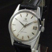 【OH済】1960年 アンティーク オメガ シーマスター [日付] 自動巻 CAL562  アルファ針