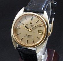 【OH済】1973年 アンティーク オメガ コンステ cal1011 Cライン ゴールドキャップ