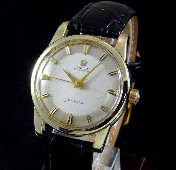 1950年 〜 1959年  【OH済】1959年 オメガ アンティーク シーマスター CAL501 ゴールドキャップ