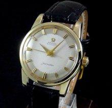 【OH済】1959年 オメガ アンティーク シーマスター CAL501 ゴールドキャップ