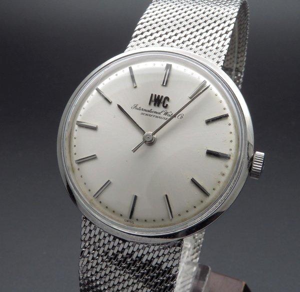 完売 【OH済】1968年 アンティーク インターナショナル IWC シャフハウゼン C402 手巻