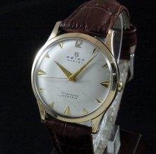 【OH済】1958年製 アンティーク セイコー マーベル Sマーク 17石 手巻 14GF クサビ