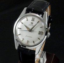 【OH済】1960年 アンティーク オメガ シーマスター [日付] CAL562 ドルフィン針