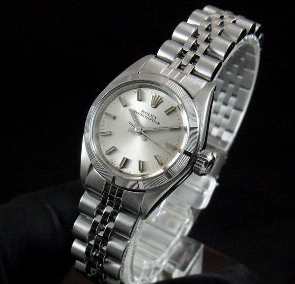 ロレックス -Antique Rolex-   売り切れ【OH済】1974年 アンティーク ロレックス SS オイスターパーペチュアル ref6723 エンジン