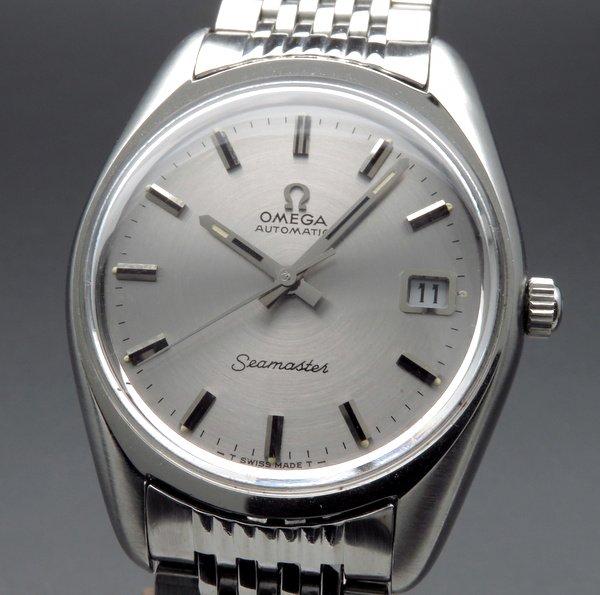 1970年 〜 1979年      【OH済】1971年 アンティーク オメガ シーマスター [日付] CAL565 ブレス付