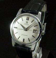 売切れ【OH済】1961年 アンティーク オメガ シーマスター CAL503 日付
